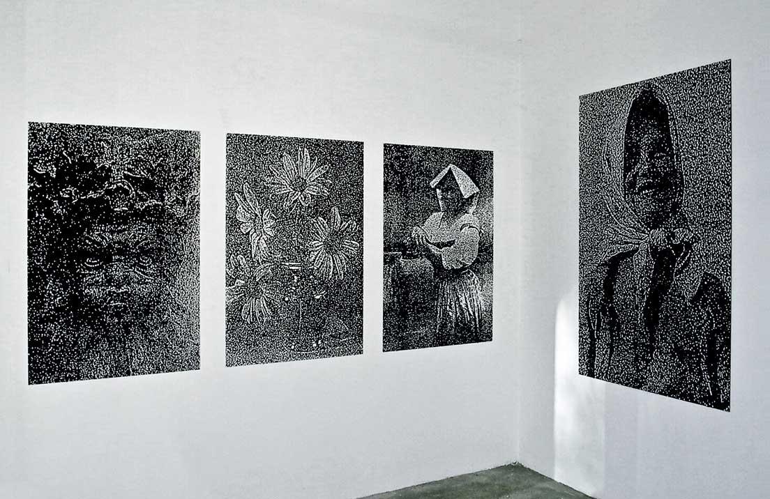 """""""Schöne Welt"""", Galerie Renate Kammer, 2001, Hamburg"""